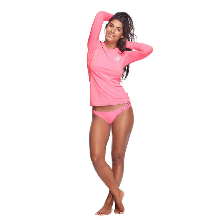 BODY GLOVE SMOOTHIES SLEEK RASH GUARD FLING