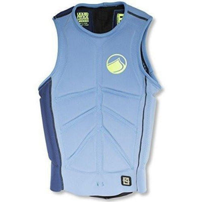 LIQUID FORCE CARDIGAN COMP VEST BLUE