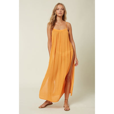 ONEILL LAYNA MIDI COVER UP DRESS MARMALADE