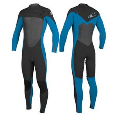 ONEILL YPUTH SUPERFREAK 3/2 CHEST ZIP BLUE