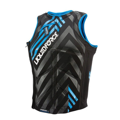 LIQUID FORCE STACKED KITE VEST BLACK