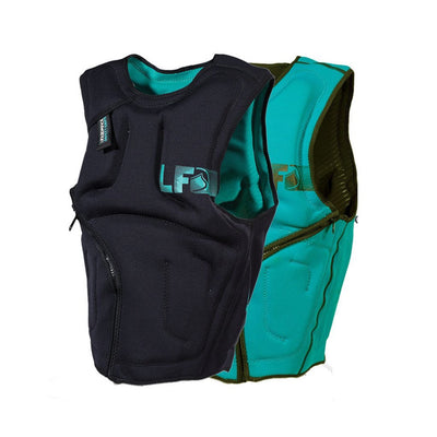 LIQUID FORCE SUPREME VEST TEAL REVERSIBLE