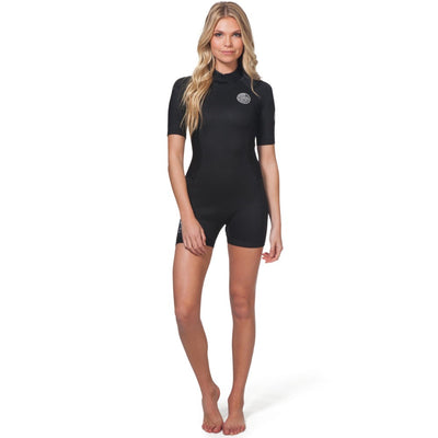 RIPCURL WMS DAWN PATROL SHORTY S/S 2MM BLACK 2020