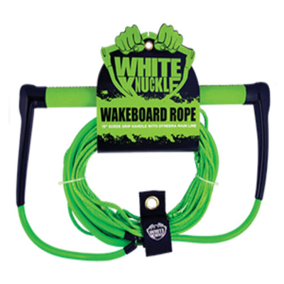 WHITE NUCKLE WAKE 15'' HANDLE LEATHER