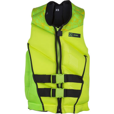 RONIX DRIVERS ED CAPELLA 2.0 LIME TEEN VEST