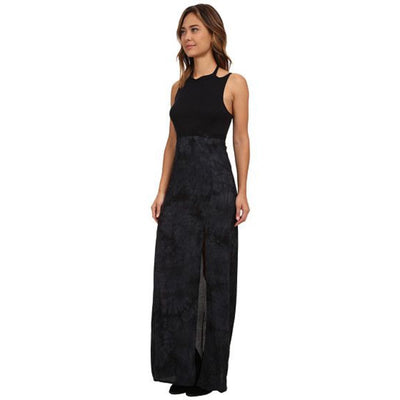 HURLEY SHELLEY MAXI DRESS BLACK
