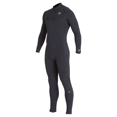 BILLABONG FURNACE COMP 4/3 CHEST ZIP BLACK 2020