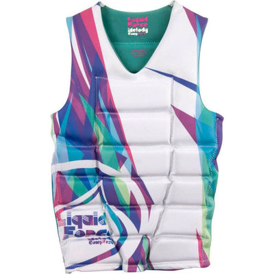 LIQUID FORCE WMS MELODY PULLOVER VEST WHITE