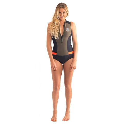 RIPCURL G-BOMB CAPSLEEVE BOOTY SPRINGSUIT