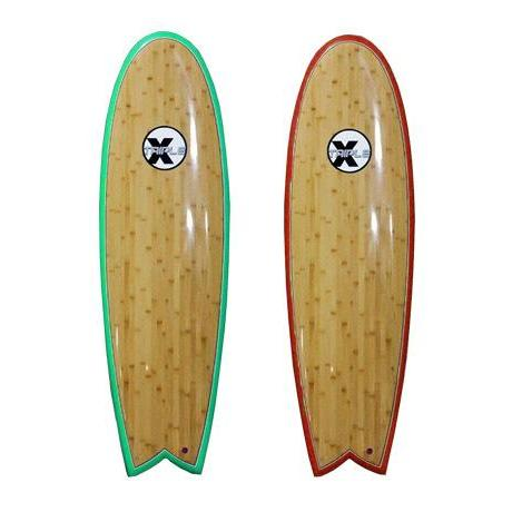 TRIPLE X BAMBOO SURF FISH