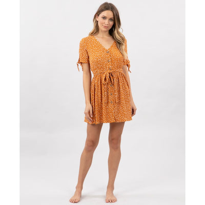 RIPCURL SAFARI SUN DRESS HONEY