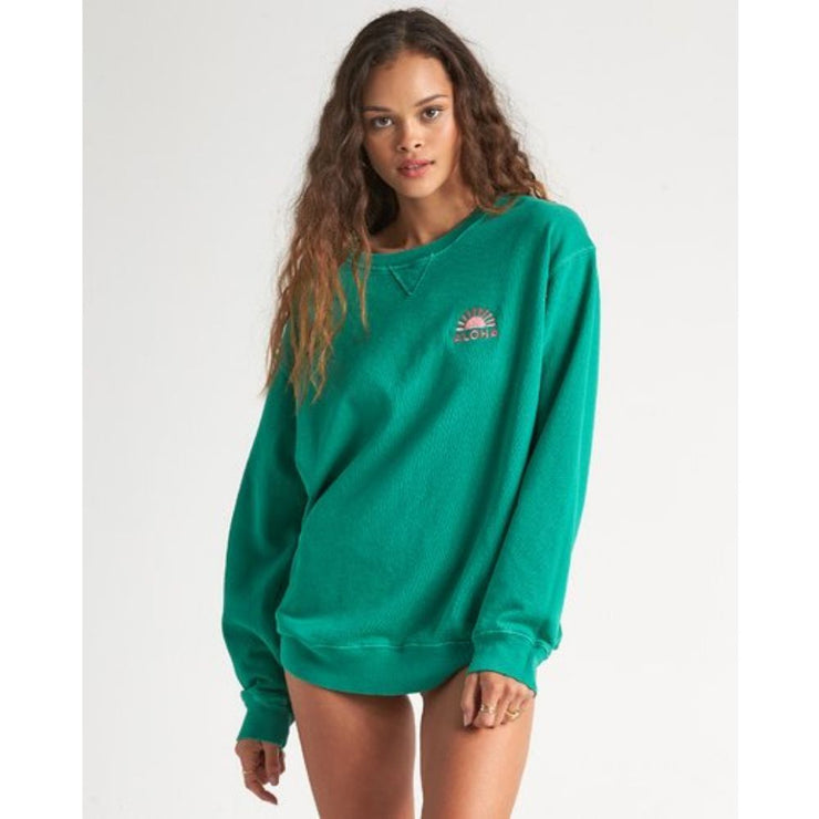 BILLABONG SURF VIBE FLEECE EMERALD BAY