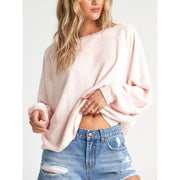 BILLABONG CARRIED AWAY FLEECE BLUSH