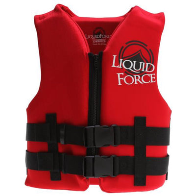 LIQUID FORCE NEMESIS CHILD VEST RED