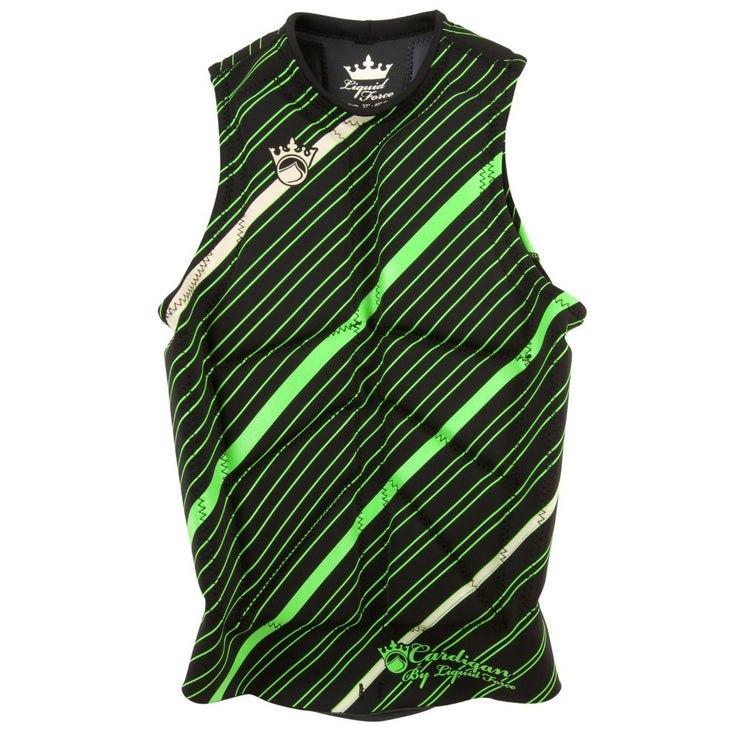 LIQUID FORCE CARDIGAN COMP VEST GREEN