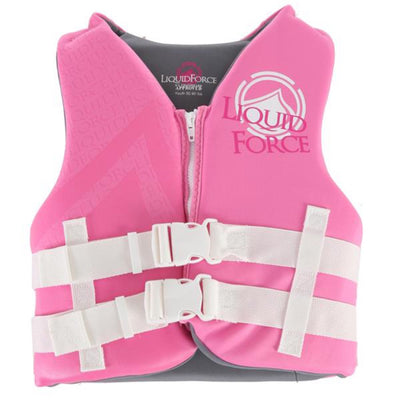 LIQUID FORCE STAR YOUTH VEST PINK