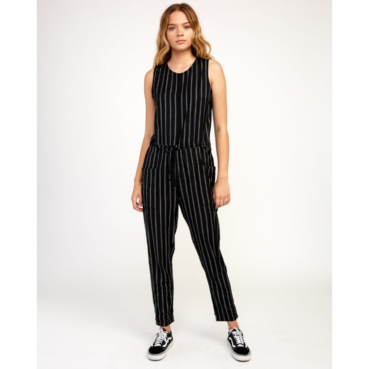 RVCA POP OUT JUMPER BLACK STRIPE