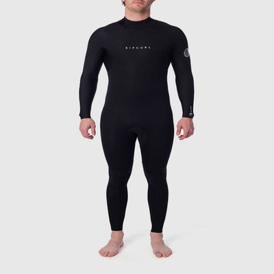 RIPCURL DAWN PATROL 3/2 BACK ZIP BLACK 2020