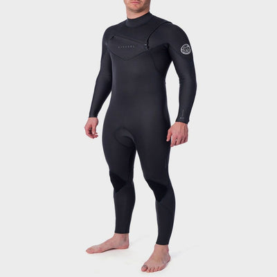 RIPCURL DAWN PATROL PERFORMANCE 4/3 CHEST ZIP CHARCOAL 2020