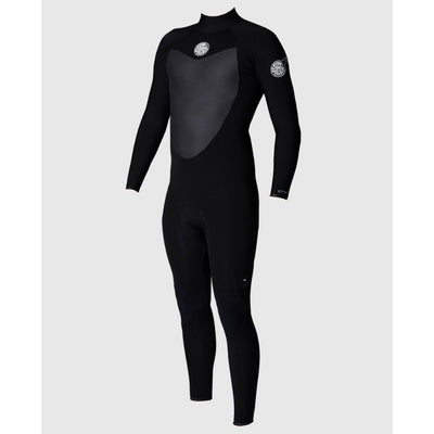RIPCURL FLASHBOMB 4/3 BACK ZIP BLACK 2020