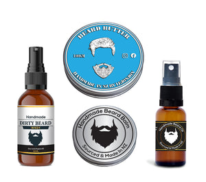 Beard Wash, Beard Oil, Beard Balm or Beard Butter?