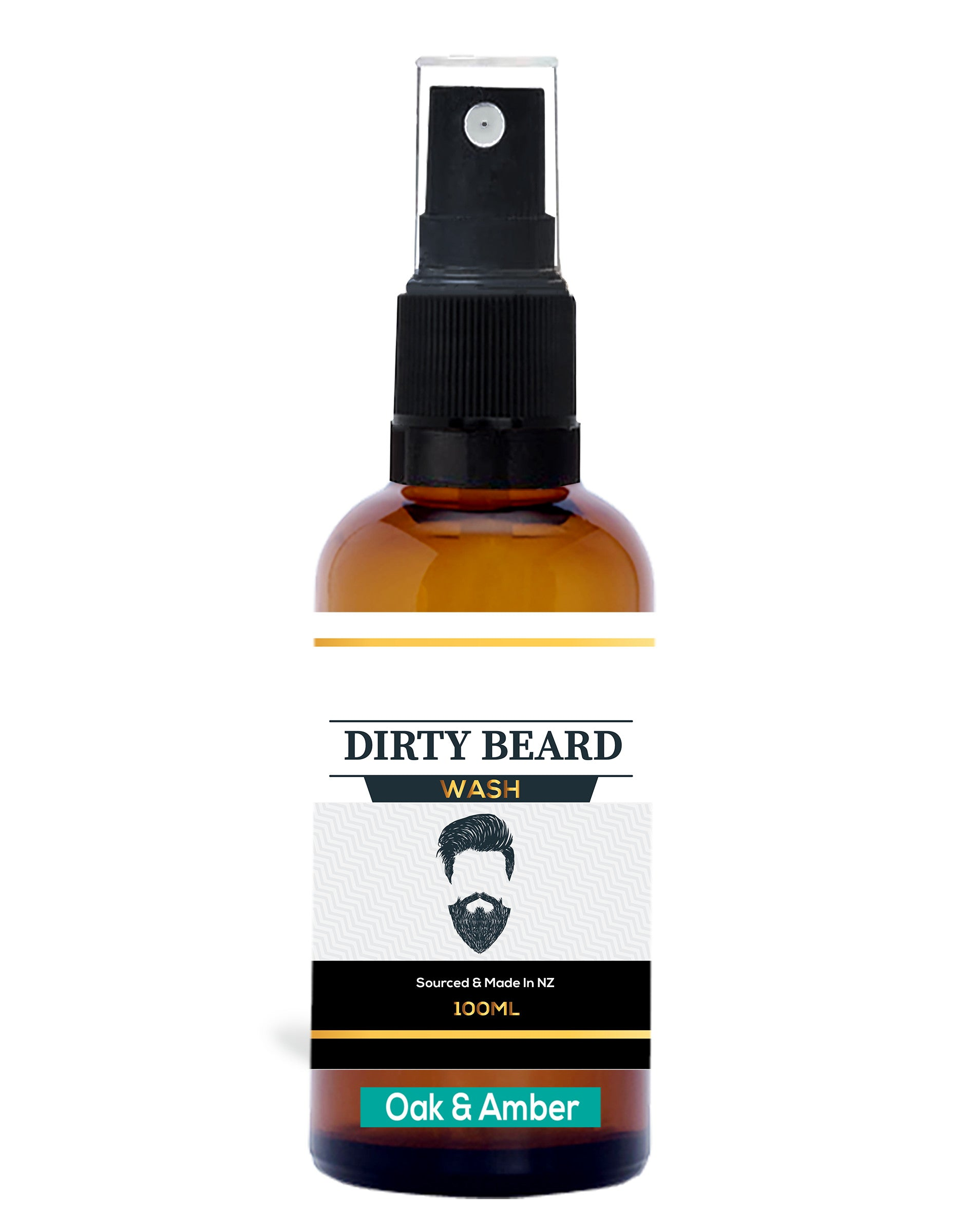 Beard Wash Oak & Amber