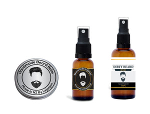 Beard Balm, Beard Oil and Beard Wash