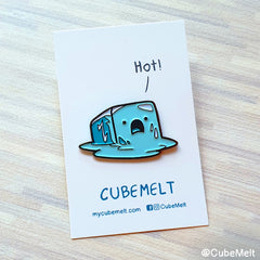 Cubemelt Enamel pin - Melt for you - CubeMelt