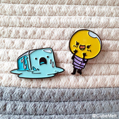 Cubemelt Enamel pin - Couple pack - CubeMelt