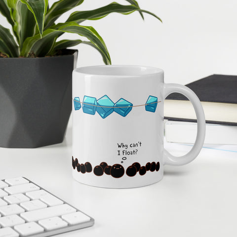 Cubemelt Mug- Thoughts in a cup of bubble tea - CubeMelt