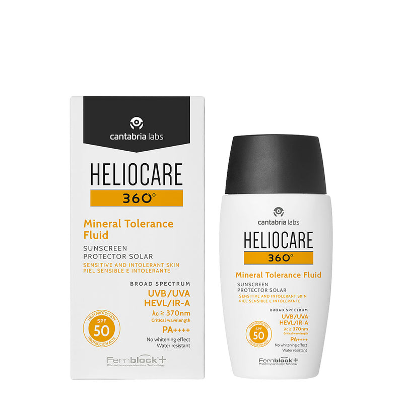 Heliocare 360° Mineral Tolerance Fluid SPF 50 - 50ml