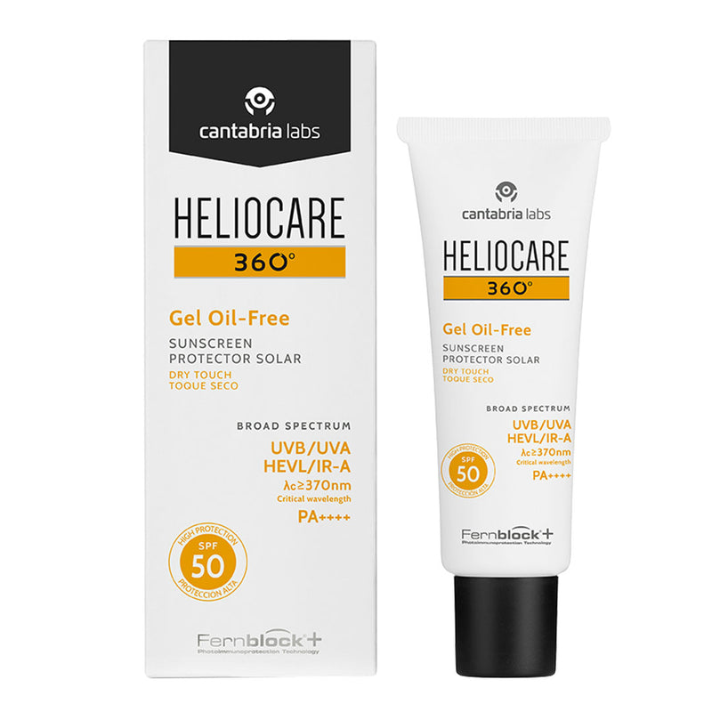Heliocare 360° Oil-Free Gel SPF 50 - 50ml