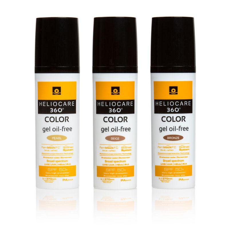 Heliocare 360° Color Oil Free Gel Colour COMBI 2-pack