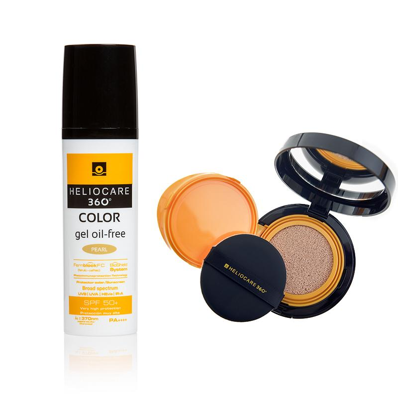 Heliocare 360° Colour Oil Free Gel and Compact Bundle