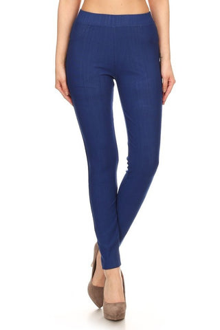 Super Stretchy Jeggings - Denim