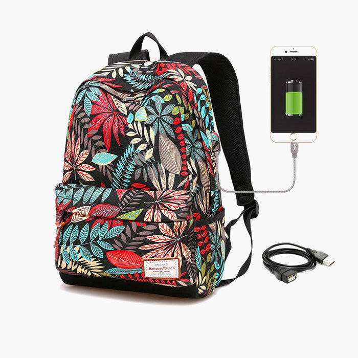 sac à dos fille - tropical