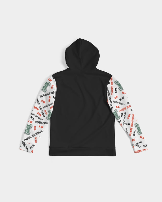 "THE ""WHERE YOU FROM"" HOODIE - [FROM HERE EDITION]"