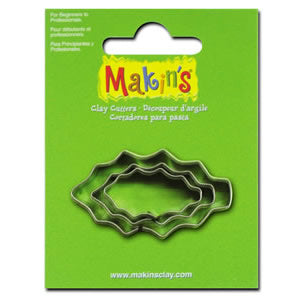 Makin's Clay Cutter - Holly Leaf