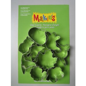 Makin's Clay Cutters Set - Halloween B