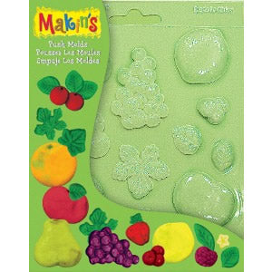 Makin's Clay Push Mold - Fruits
