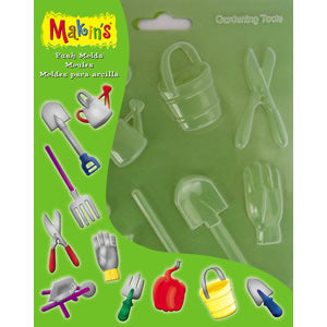 Makin's Clay Push Mold - Gardening Tools
