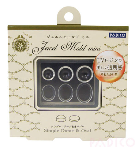 Padico Jewel Mold Mini - Dome and Oval