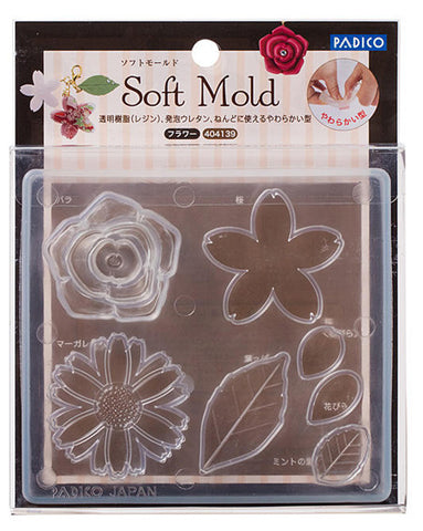 PADICO Decollage Soft Clay Mold - Flower