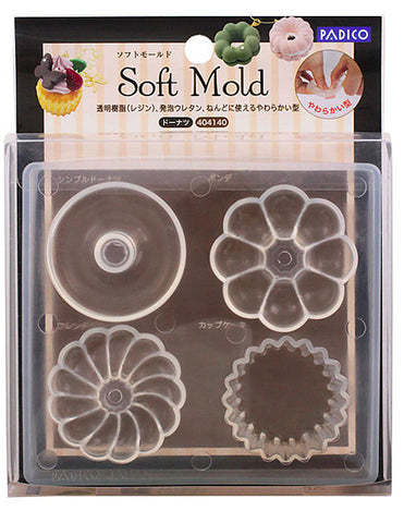 PADICO Decollage Soft Clay Mold - Doughnut
