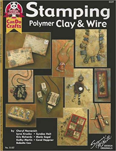 Design Originals Stamping Polymer Clay and Wire