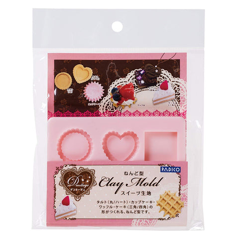 PADICO Decollage Clay Mold - Sweet Paste
