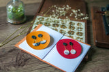 Polymer Clay Earring and Leather Journal Making - Crafune x Tinkle Arts
