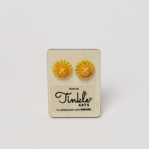 Pineapple Tart Earrings