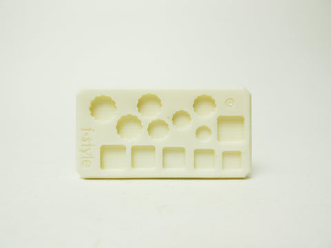 Miniature Mold - Cookie and Biscuit