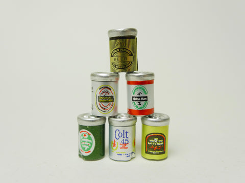 Beer Cans Set
